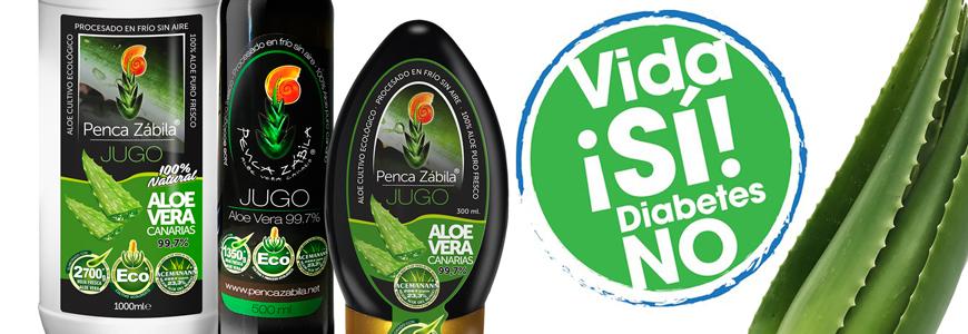 Aloe Vera contra la Diabetes y azucares en sangre