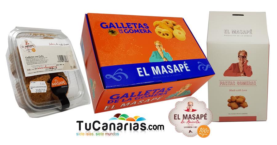Galletas Gomeras y Pastas Canarias El Masape