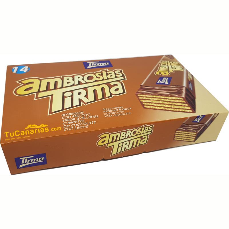 Ambrosias Tirma Chocolate y Avellanas 14 unidades