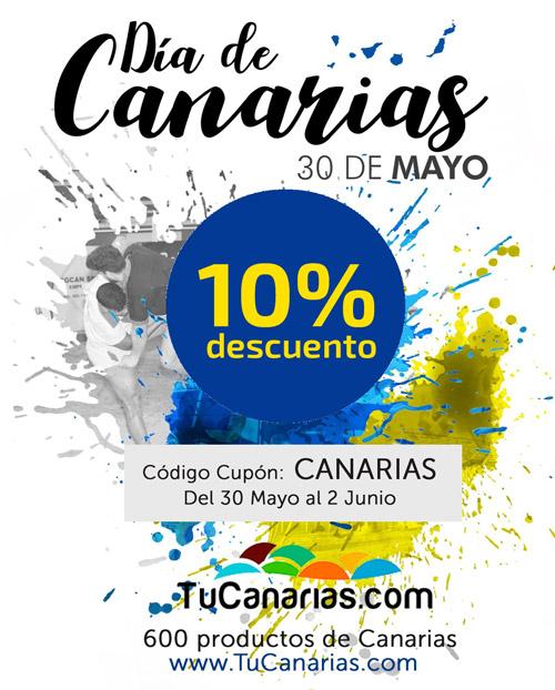 10% de descuento en el Dia de Canarias en www.TuCanarias.com