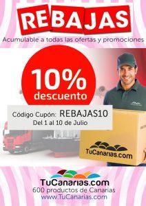 Rebajas Productos de Canarias en TuCanarias.com