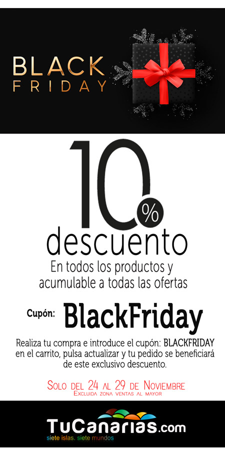 Black Friday TuCanarias.com 2019