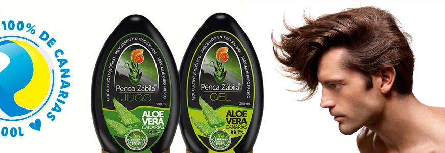 Aloe Vera contra caida cabello
