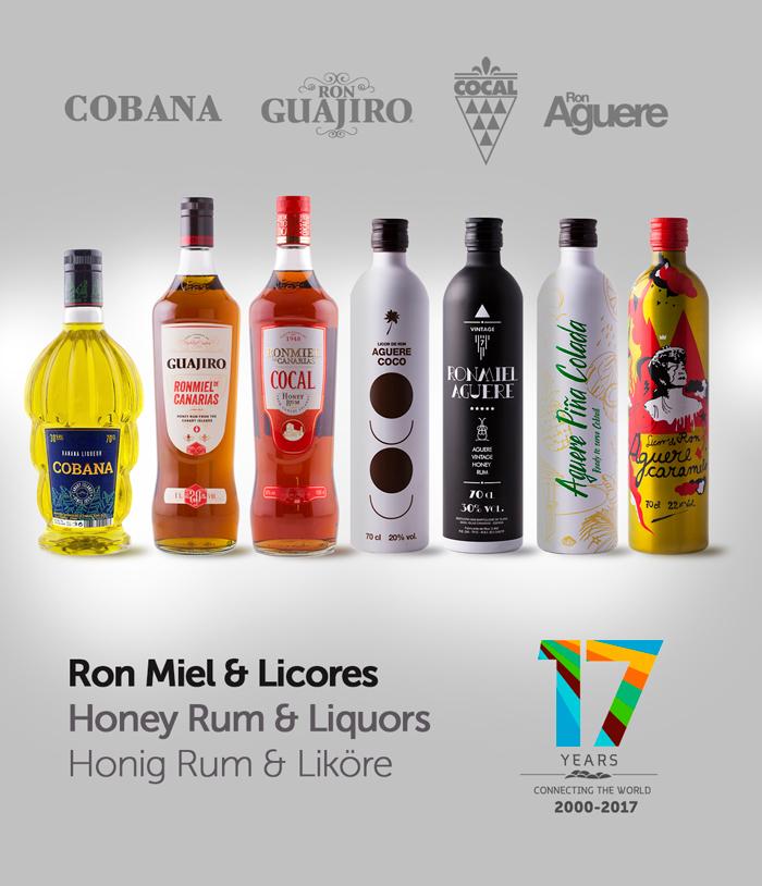 Ron Ronmiel Licores de Canarias en TuCanarias.com
