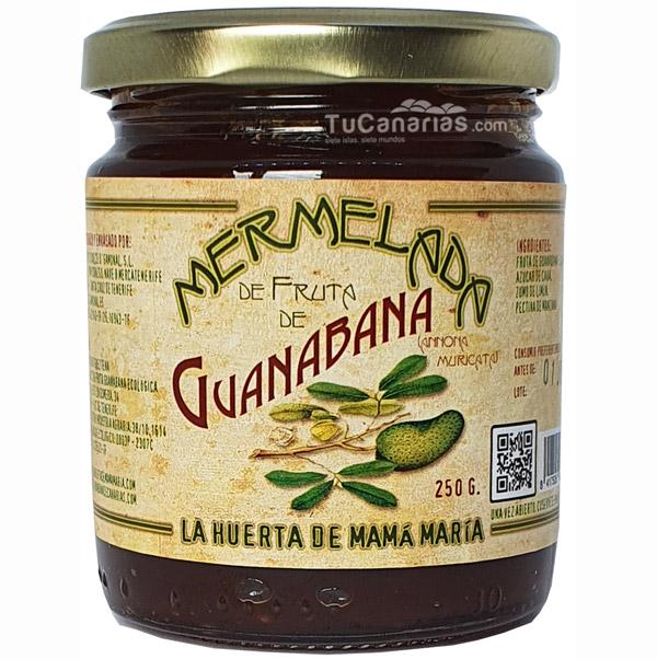 Mermelada de fruta de Guanabana ecologica
