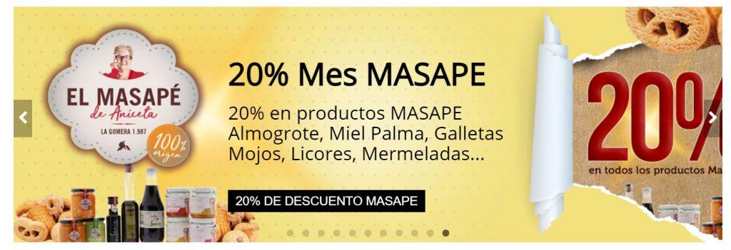 Mes de El Masapé de Canarias en www.TuCanarias.com