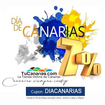 7% Dia de Canarias en TuCanarias.com